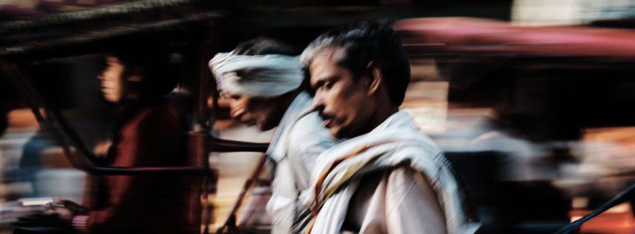 Rickshaw Driver - Chandi Chowk, Old Delhi, India