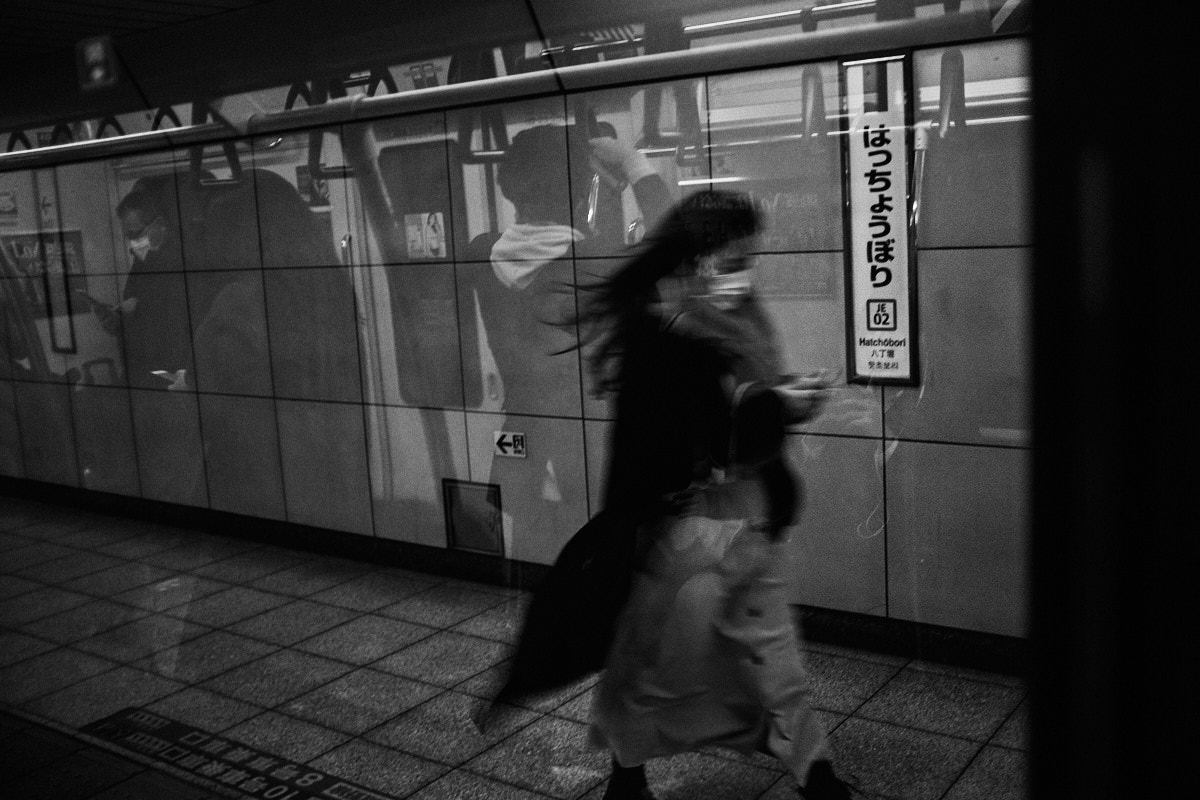 Speed and Reflections - Tokyo Trains