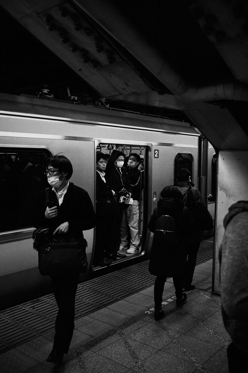 Packing In - Tokyo Trains