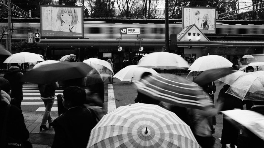 Rain - Tokyo Trains