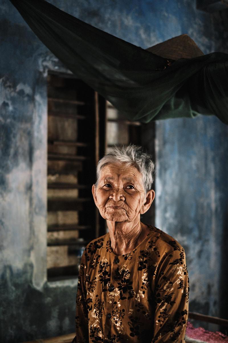 Village Woman - Central Vietnam