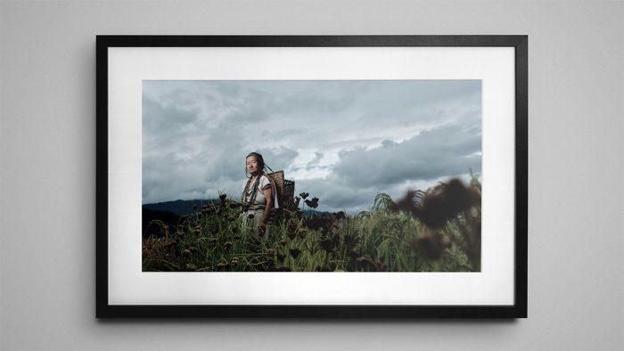 Tilling Yassung Apatani - Framed