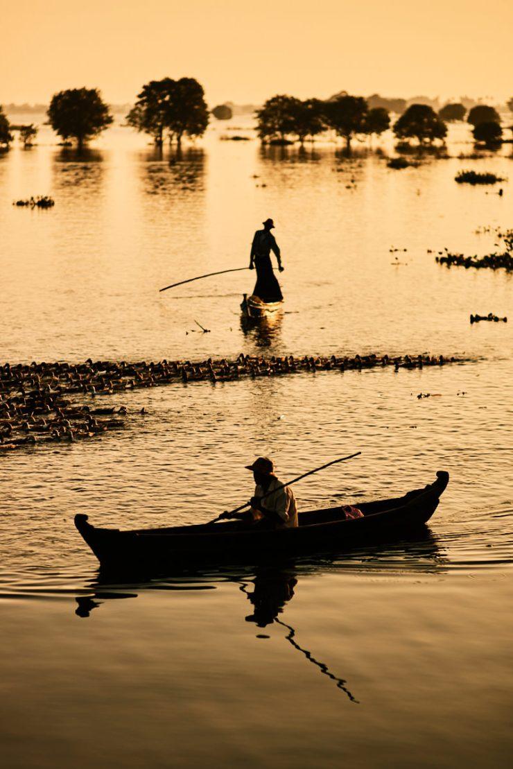Mandalay Duck Herder