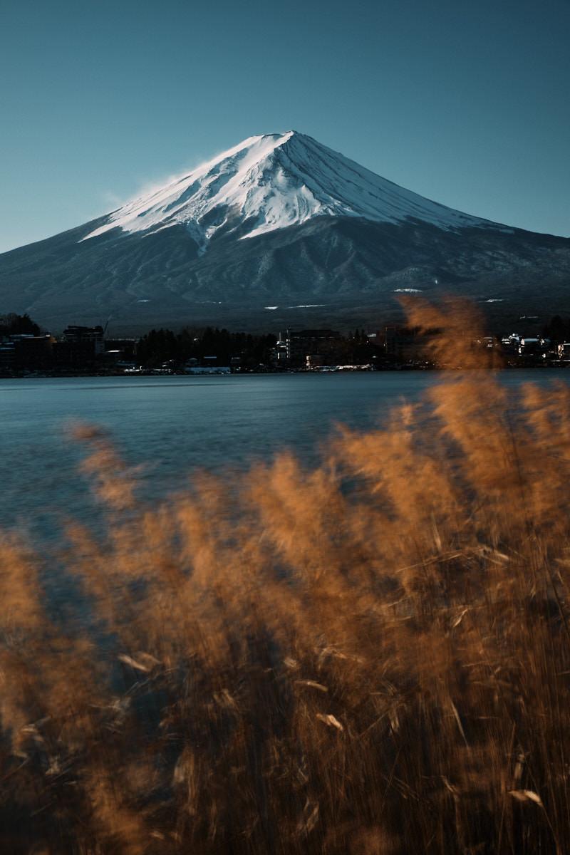 Mt Fuji Sunrise from Kawaguchiko