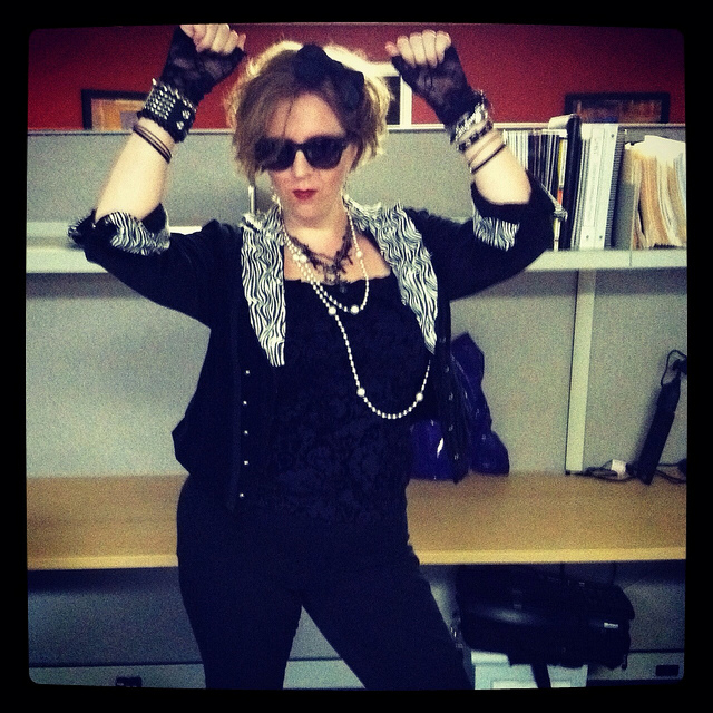 Halloween Costume - Desperately Seeking Susan