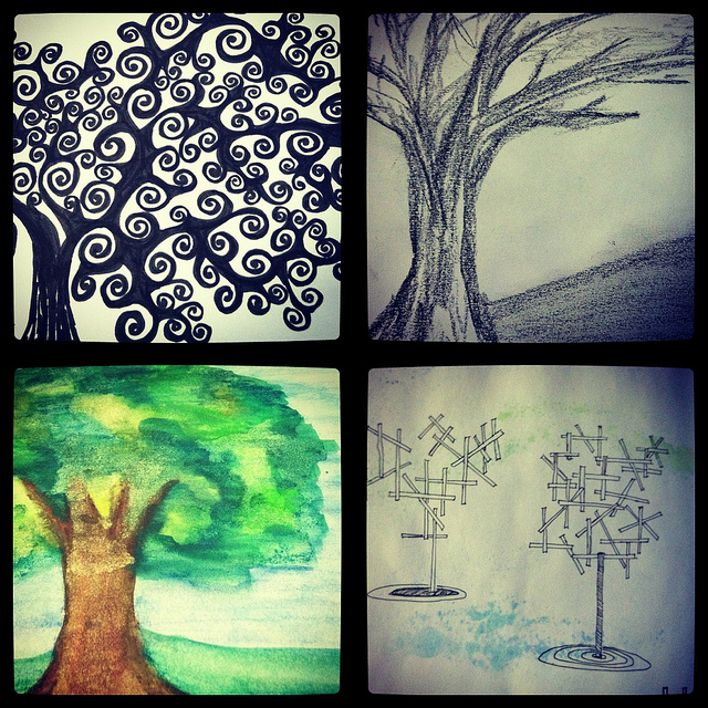 A Variation of Trees