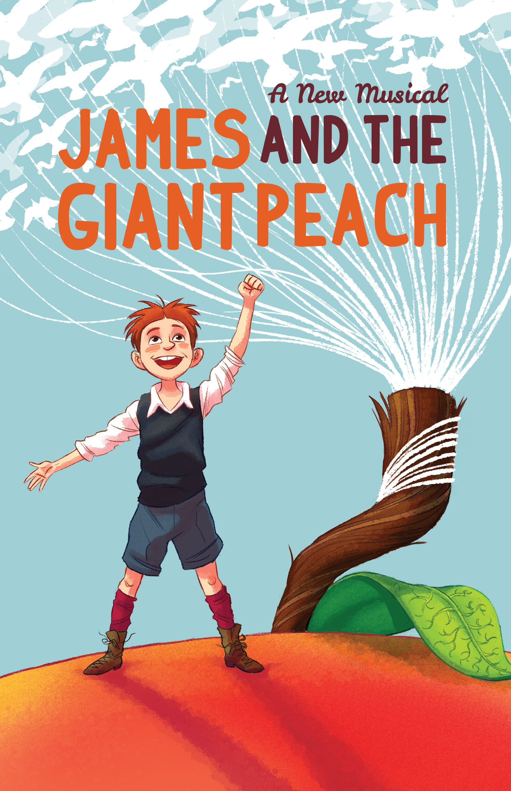 James And The Giant Peach Poster Dylan Meconis