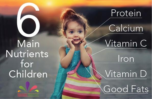 Main Nutrients for Children