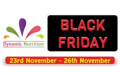 Black Friday Sales! (23 – 26 November 2018)