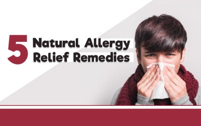 5 Natural Allergy Relief Remedies