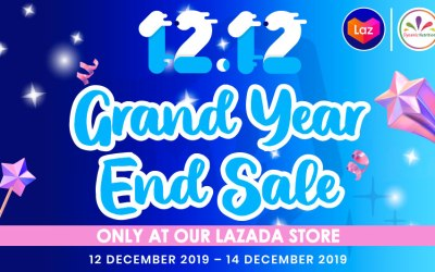 12.12 Grand Year End Sale only at our Lazada Store