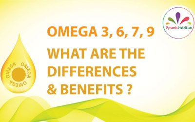 Omega 3, 6, 7, 9 – What are The Differences and Benefits?