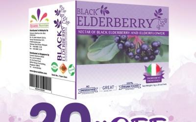 20% Discount for Black Elderberry Juice