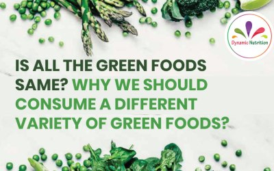 Is All the Green Foods Same? Why We Should Consume a Different Variety of Green Foods?