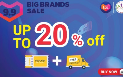9.9 Lazada Big Brands Sale