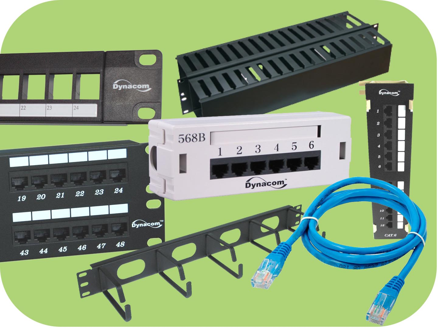 hight resolution of structured wiring product
