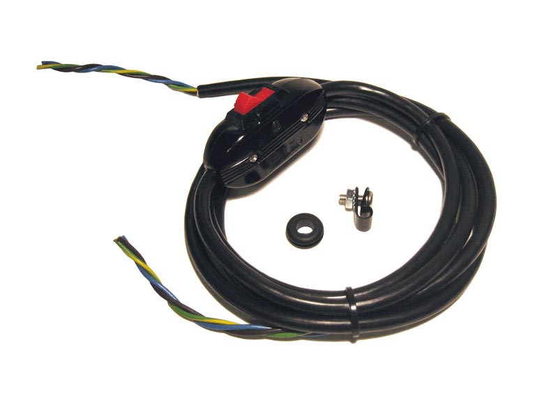 Power Cord & Switch (240 Vac)