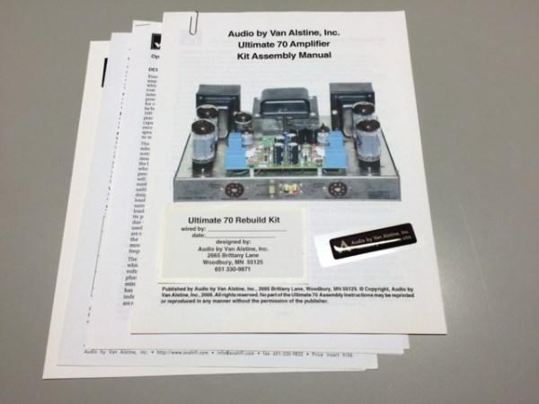 AVA ST-70 Manual