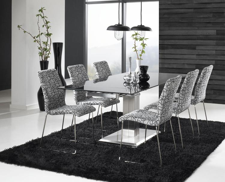 Glas Esstisch Apollo Tisch ausziehbar Esszimmertisch  eBay