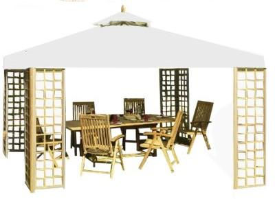 Belardo By Landmann Gartenpavillon Pavillon Xm Teak Holz