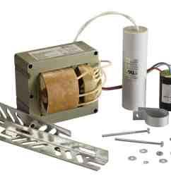 how to install a hid ballast rh dynamicballast com high pressure sodium ballast wiring diagram metal halide wiring schematic [ 1275 x 1018 Pixel ]