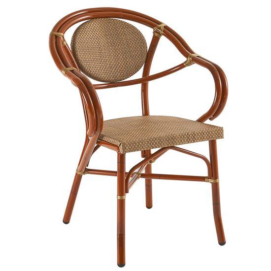 outdoor armchair, outdoor furniture, restaurant furniture, hotel furniture