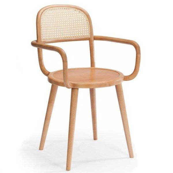 luc armchair, cane furniture, hotel furniture, restaurant furniture