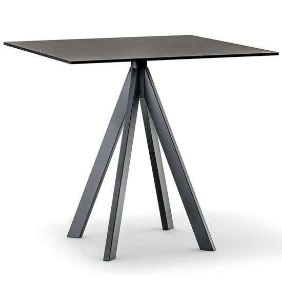 pedrali, arki 4 table base, table base, contract furniture, restaurant furniture