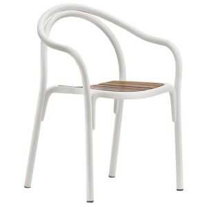 soul outdoor armchair, pedrali, armchairs, restaurant furniture, workplace furniture