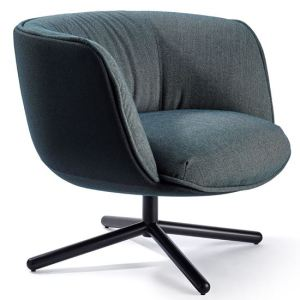 bombom swivel lounge chair, workplace furniture, hotel furniture, lounge chair, contract furniture, office furniture