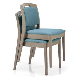 regina stacking side chair, healthcare furniture, care home furniture, nursing home furniture, hotel furniture, stacking chairs