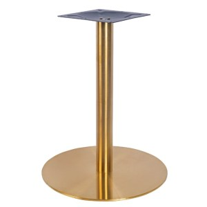 Brass large table base, bar furniture, restaurant furniture, hotel furniture, workplace furniture, contract furniture, office furniture