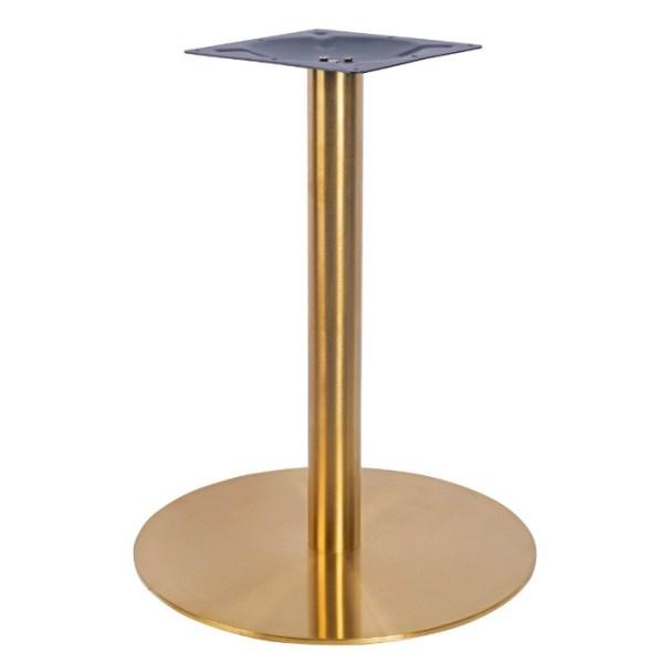 Brass large table base, bar furniture, restaurant furniture, hotel furniture, workplace furniture, contract furniture, office furniture