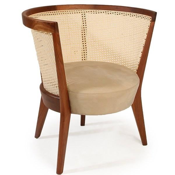 dalila hotel rattan lounge chair
