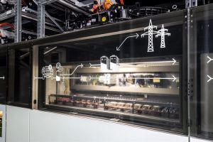 Audi avasi käytetyistä sähköautojen akuista tehdyn sähkövaraston Berliiniin