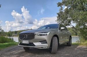 Koeajossa uusi Volvo XC60 kevythybridi