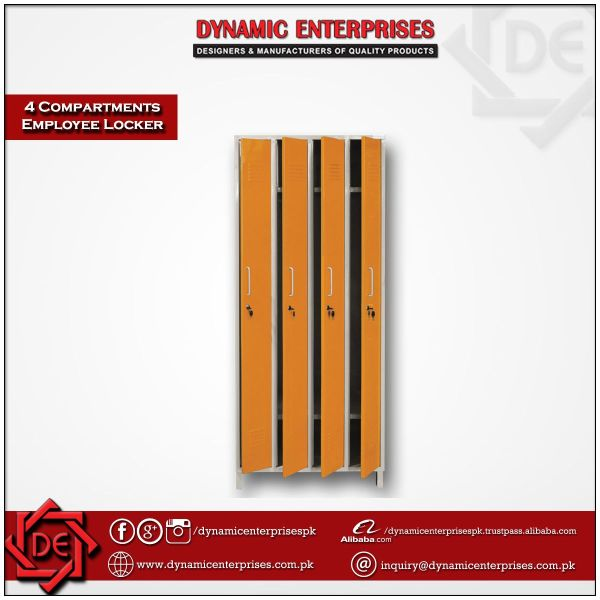 4 Compartment Employee Lockers