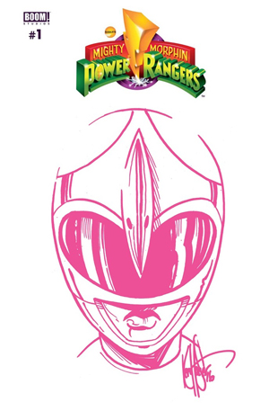 DYNAMIC FORCES MIGHTY MORPHIN POWER RANGERS 1 LIMITED