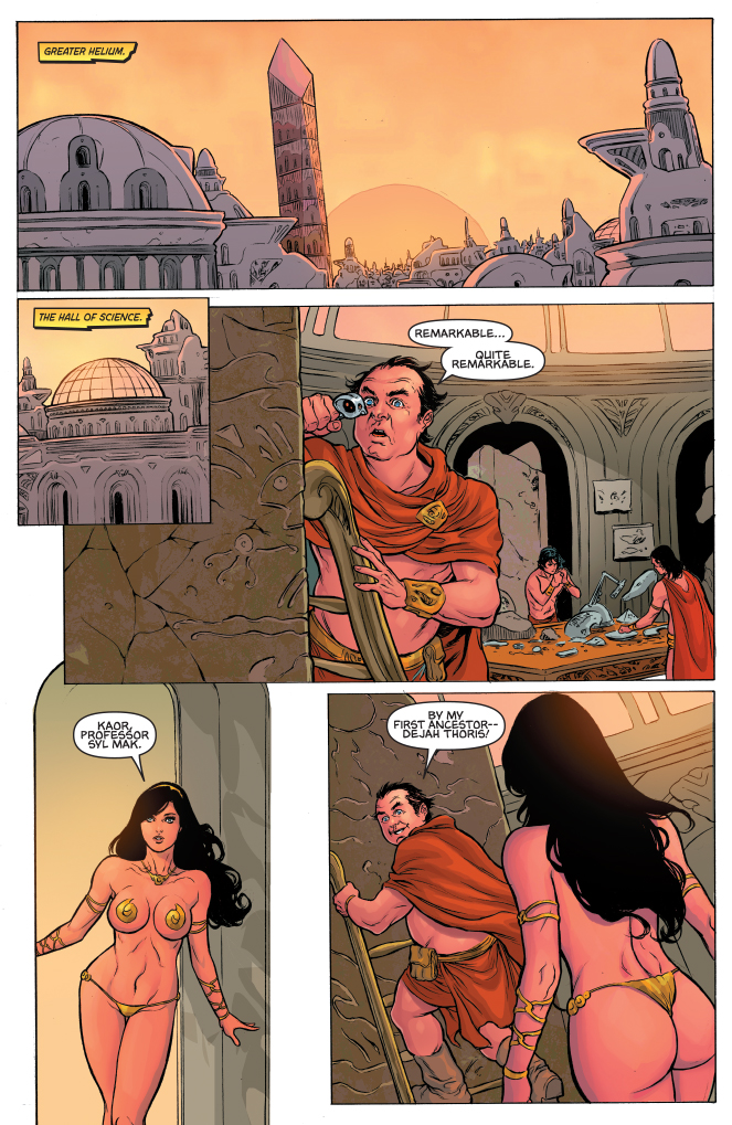 DYNAMIC FORCES  WARLORD OF MARS DEJAH THORIS 26