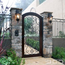 Spanish Wrought Iron Entry Gate Designs