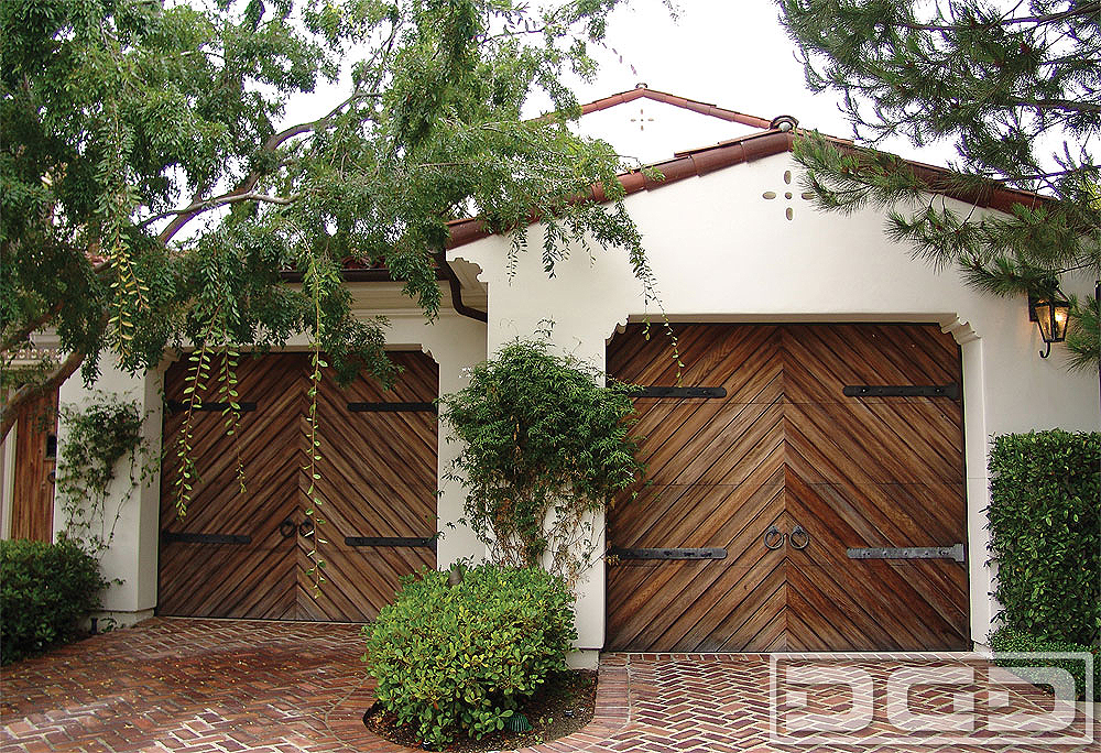 Spanish Colonial 04 Custom Architectural Garage Door
