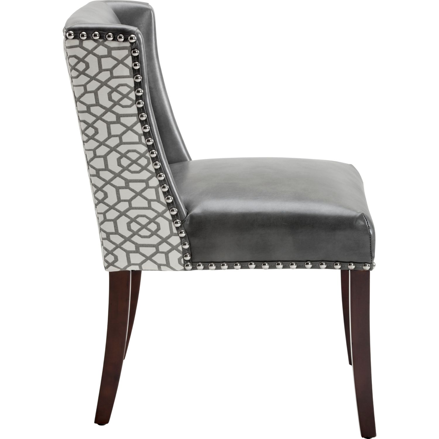 modern leather dining chairs australia wheelchair man sunpan 101088 marlin chair in nobility grey