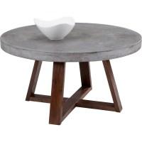 Sunpan 57901 Devons Coffee Table w/ Sealed Concrete Top ...