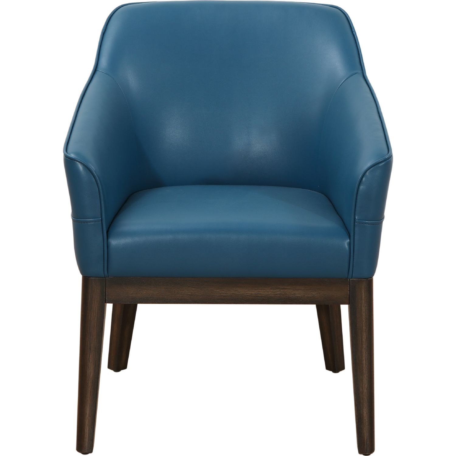 turquoise chairs leather rustic kitchen table and sunpan 100360 dorian armchair in on