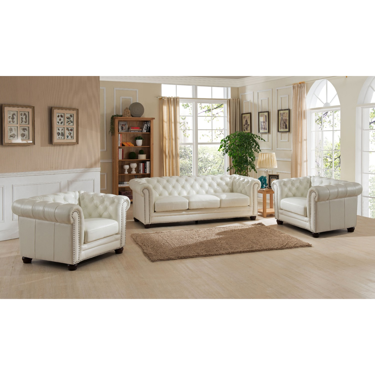 white leather sofa with nailheads big lots bed tufted nailhead bargains on hydeline by amax