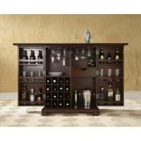 Crosley KF40001AMA Alexandria Expandable Bar Cabinet in ...