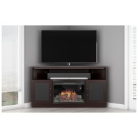 "Furnitech FT60CCCFB FT60CCCFB 60"" TV Stand Contemporary ..."
