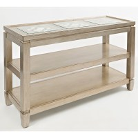 Silver Sofa Table Sophie Silver Mirrored Sofa Table ...