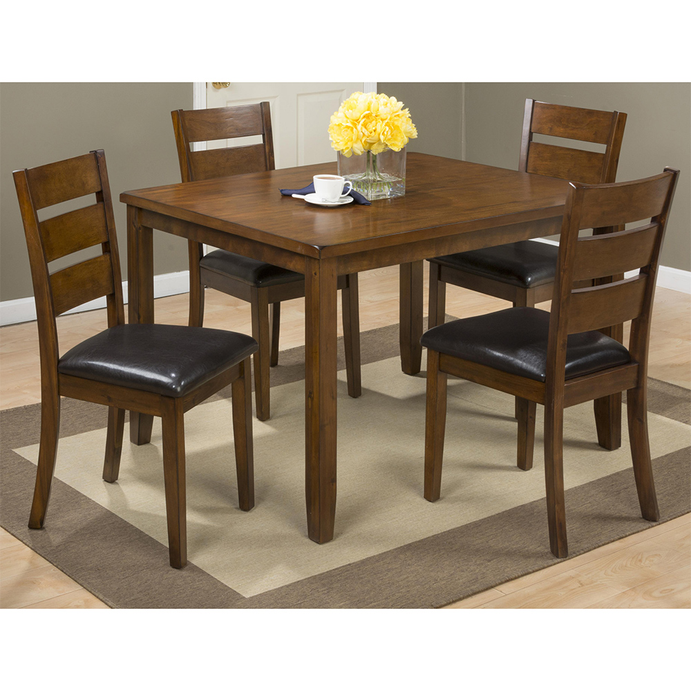 Jofran 591 Plantation Dining Table  4 Chairs Set