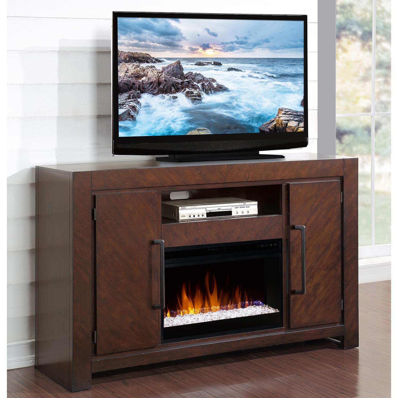 Legends Furniture ZCTL1900 City Lights 61 Fireplace TV